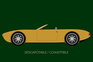 convertible classical car