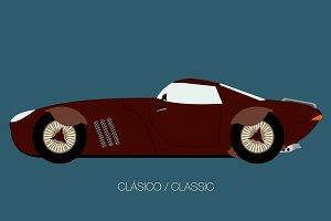 modern classic car