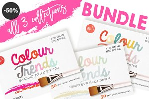 50%OFF Colour Trends Swatches Bundle
