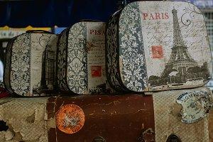 parisian vintage chests