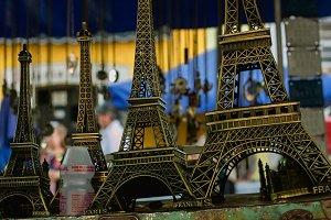 vintage Eifel tower souvenirs