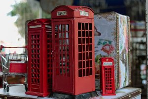 london phone booth souvenirs