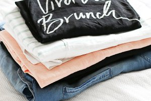 Summer Clothing Stack