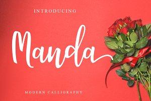 Manda Script Duo Font
