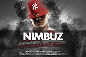 Nimbuz Photoshop Action