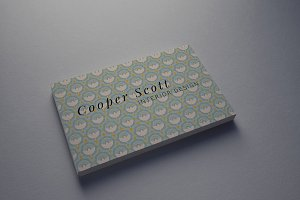 Emblem business card