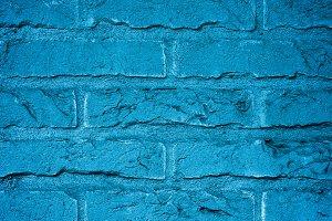 Brick Wall with Cobweb