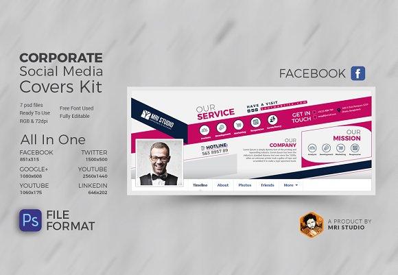 Corporate Social Media Cover