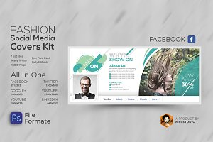 Fashion Social Media Cover Kit