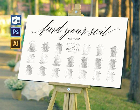 Wedding Seating Chart Wpc168