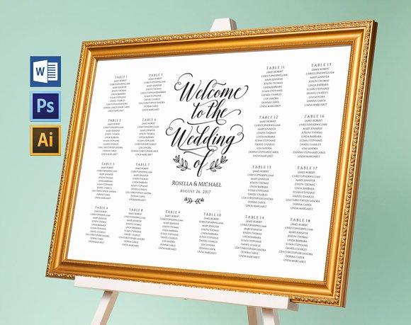 Wedding Seating Chart Wpc171