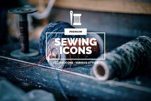 Premium »Sewing« Icons