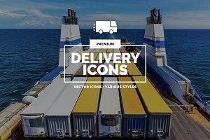 Premium »Delivery« Icons
