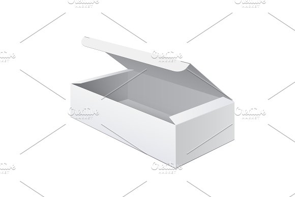 Cool Realistic White Box