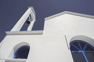 Typical Greek church