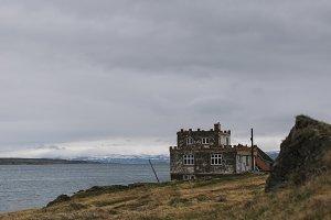 Old castle-like Ruin in Iceland