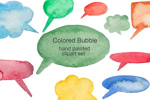 Watercolor Bubble