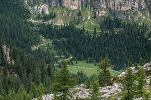 Road to Dolomites