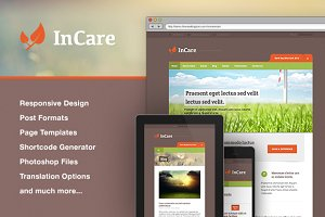 InCare - Responsive WordPress Theme