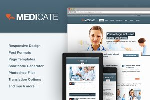 Medicate - Responsive Medical Theme