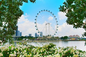 Beautiful Singapore Flyer
