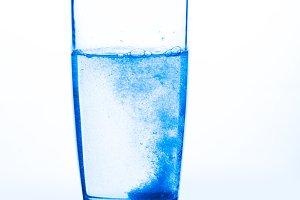 Aspirin in a glass