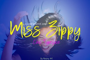 Miss Zippy | Chic Typeface