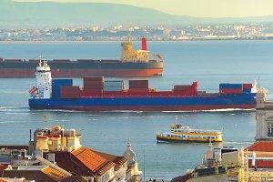 Lisbon shipping. Portugal