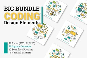Coding , Programming Design Elements