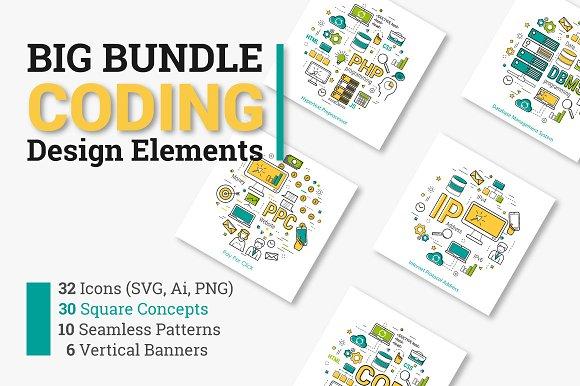 Coding Programming Design Elements