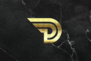 DP Letter Logo Template
