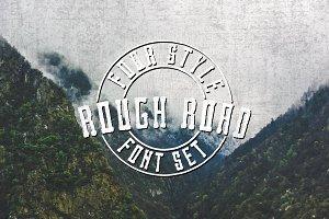 Rough Road - A versatile bold font!