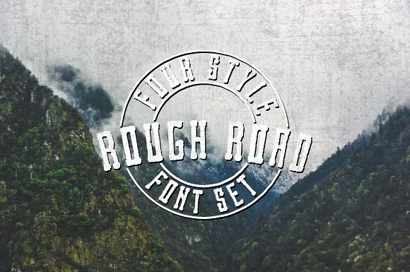 Rough Road A Versatile Bold Font