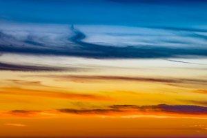 Sunset Sky Abstract Texture