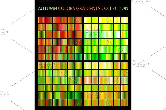 Autumn Colors Gradients