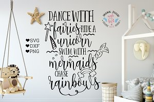 Dance with Fairies Cutting File
