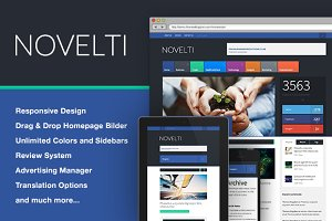 Novelti - News WordPress Theme