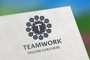 TeamWork (T Letter) Logo
