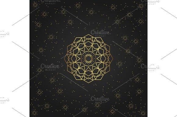Golden Eastern Symbol Ўн4