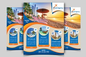 Travel Flyer Vol - 01