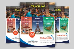 Travel Flyer Vol - 02
