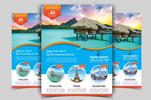 Travel Flyer Vol - 04