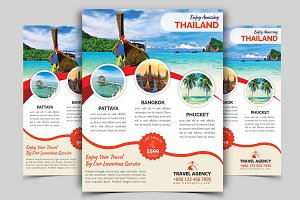 Travel Flyer Vol - 05