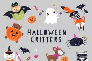 Halloween Critters Clipart