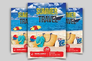 Travel Flyer Vol - 06