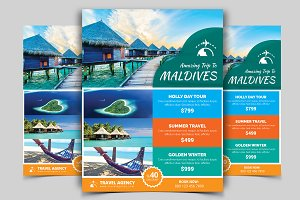 Travel Flyer Vol - 07