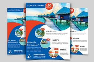 Travel Flyer Vol - 08