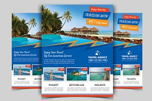 Travel Flyer Vol - 09