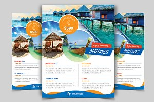 Travel Flyer Vol - 10