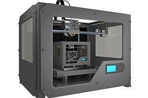 3d printer print small 3d printer